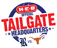 H-E-B Official Tailgate Headquarters for Rice vs Texas